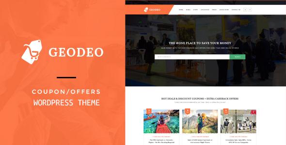 Geodeo - Gabarit HTML de coupons et d'offres - 39