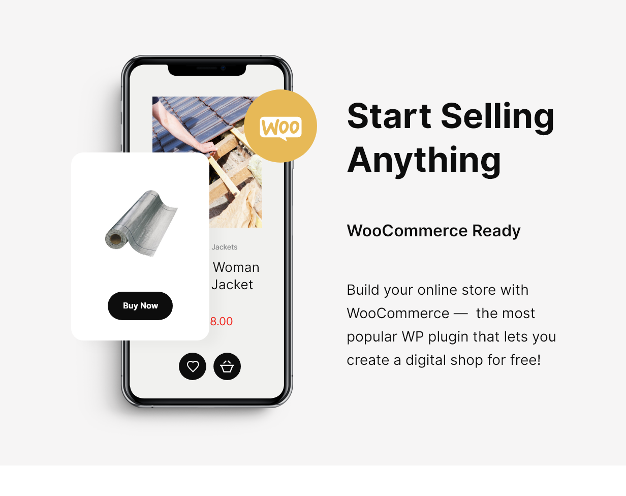 HomeRoofer | Thème WordPress Thème Services & Entreprise de Toiture - 6