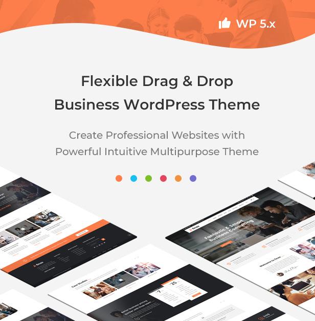 Finax | Thème WordPress Conseil en entreprise réactif - 5
