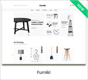 Furniki - Magasin de meubles et design d'intérieur WordPress Thème WooCommerce