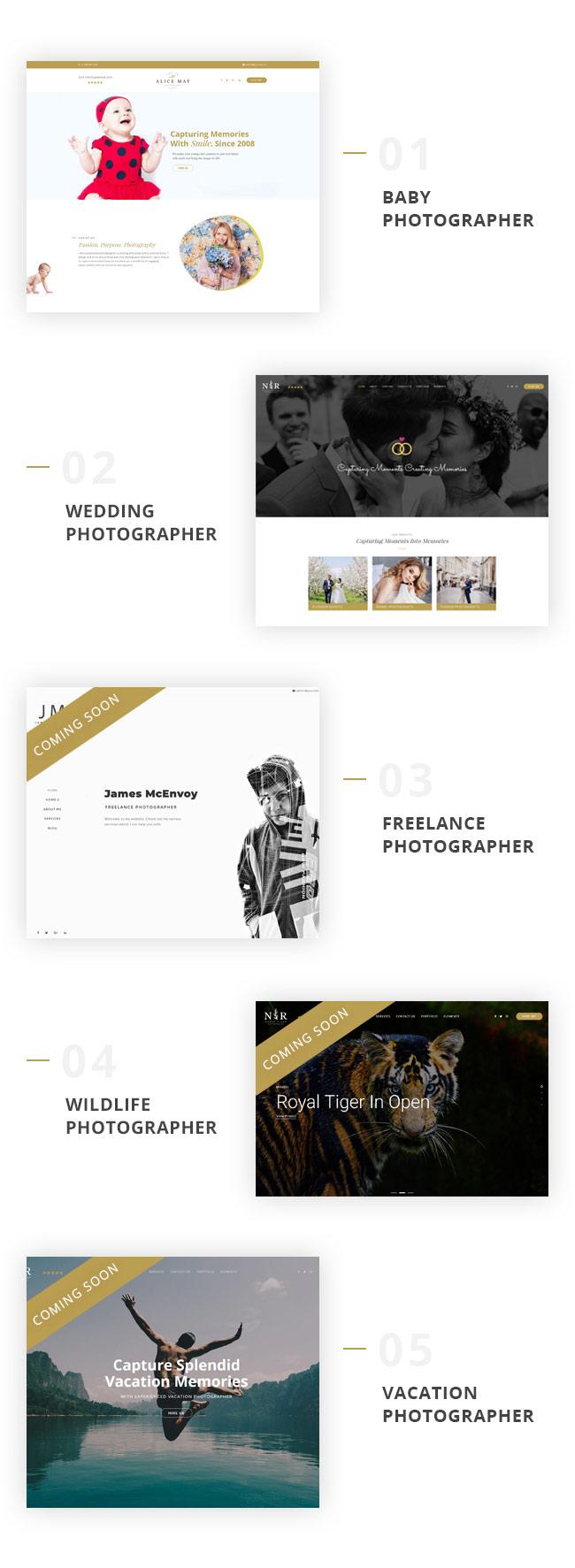 Photoluv - Thèmes de création pour photographes et photographes - 2