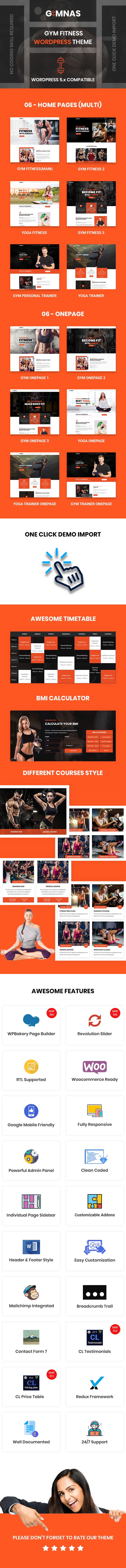 Gimnas - Thème WordPress Fitness Gym - 4