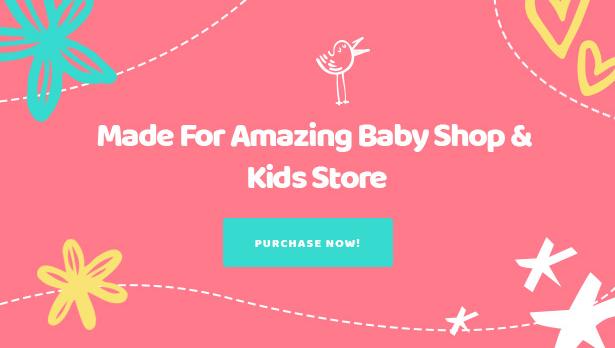Kiddo Best Baby Kids Thème WooCommerce pour WordPress