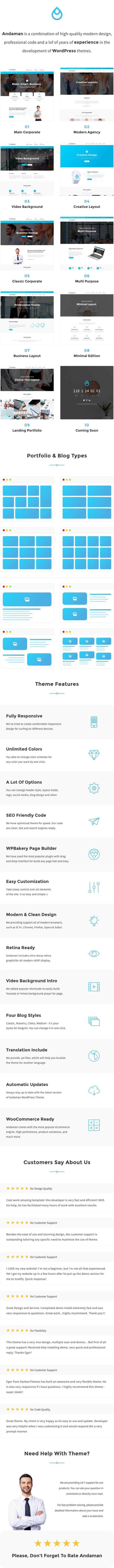 Andaman - Thème WordPress du commerce électronique créatif - 1