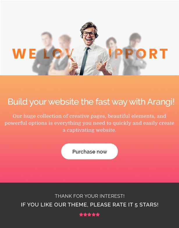 Arangi - Thème WooCommerce Bio