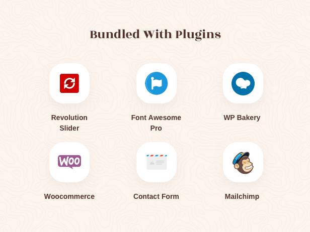 Multiple Vintage Retro Wp Theme - Package de plugins