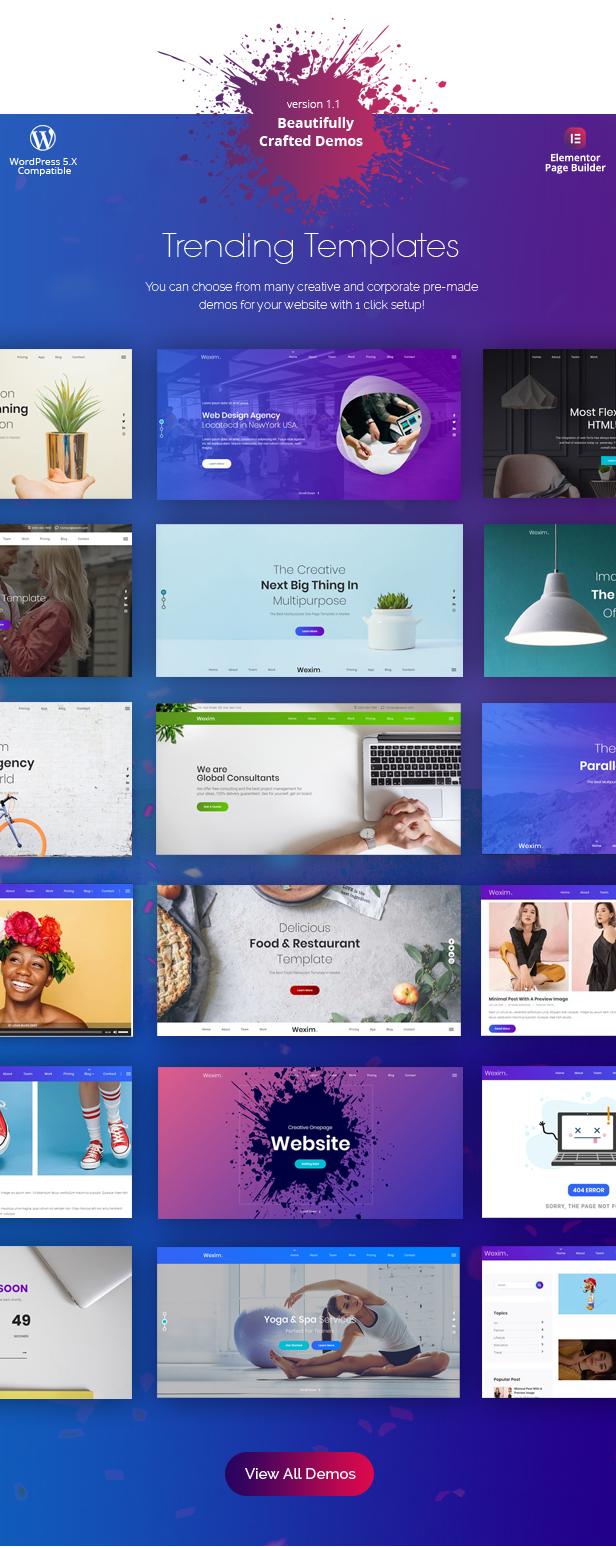 Wexim - Thème créatif WordPress - 3