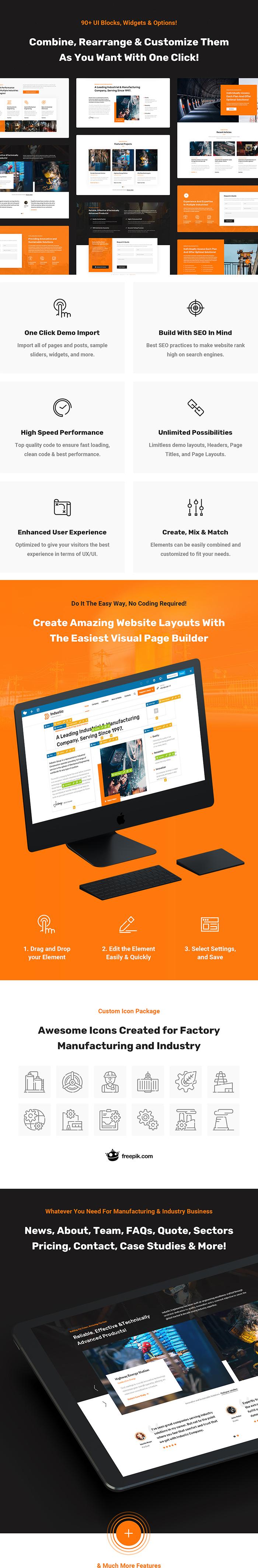 Industic - Thèmes WordPress pour l'usine et la production - 4