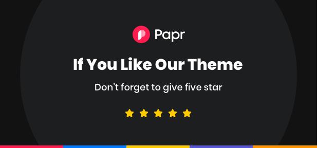 Papr | Thème WordPress pour News Magazine - 9