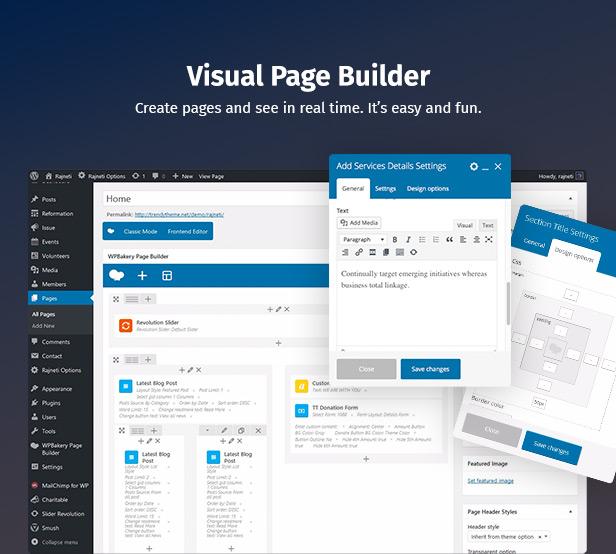 Thème WordPress créatif