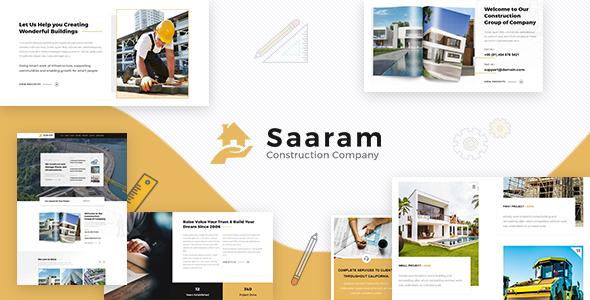 Saaram | Modèle de construction PSD - 1