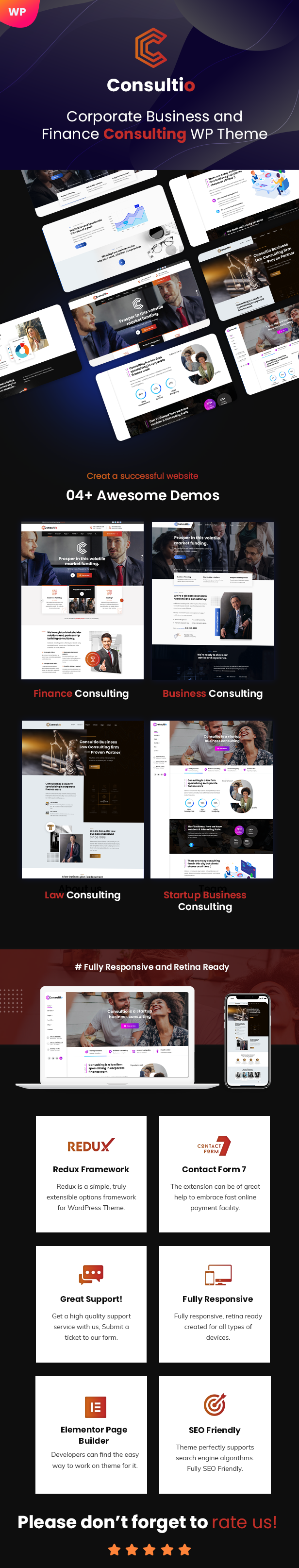 Thème WordPress Consulting & Business