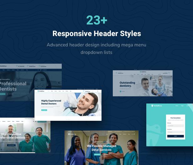 SmilePure - Thème WordPress pour soins dentaires et médicaux - 10