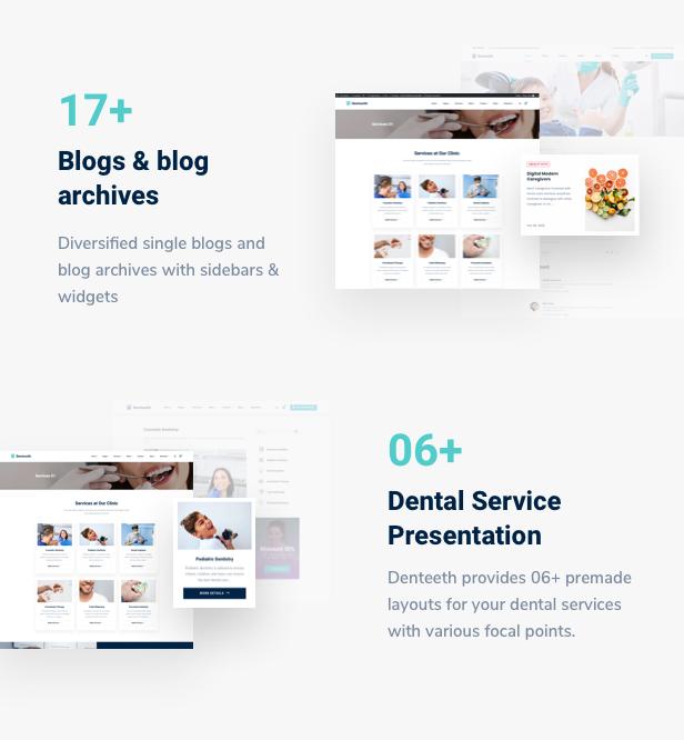 SmilePure - Thème WordPress pour soins dentaires et médicaux - 9