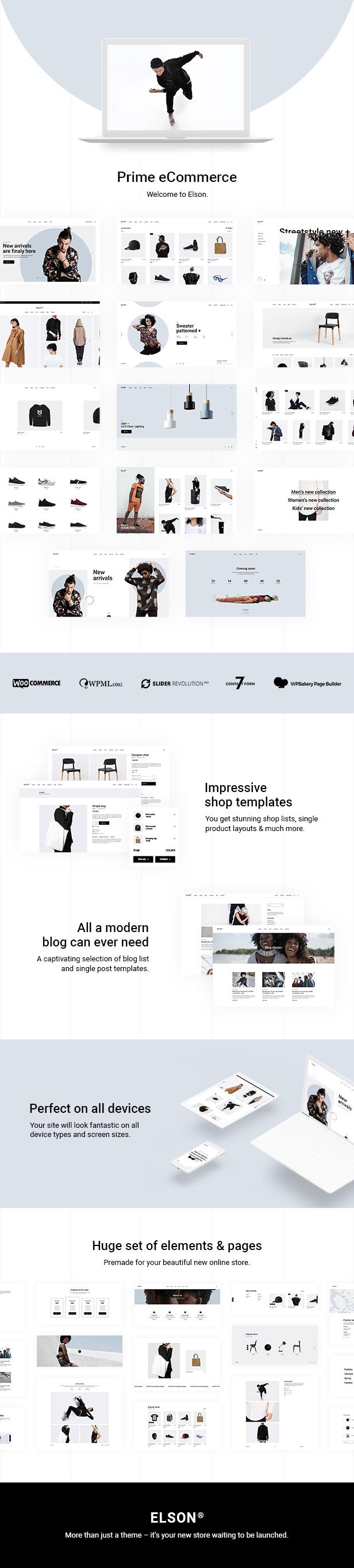 Elson - Thème de la boutique moderne - 2