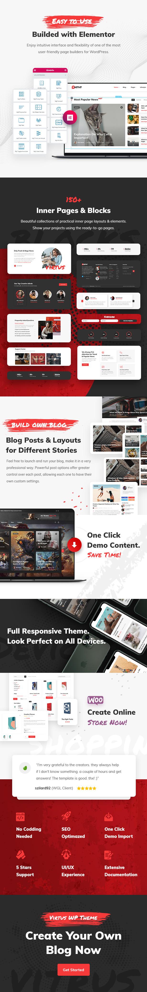 Virtus - Thèmes WordPress pour blogs et magazines modernes - 2