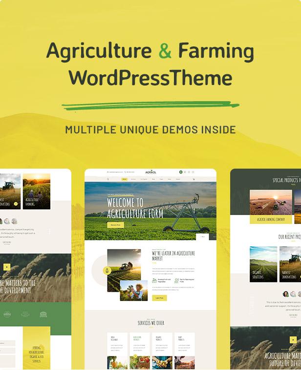 Agrikole   Thème WordPress réactif pour l'agriculture et l'agriculture - 5