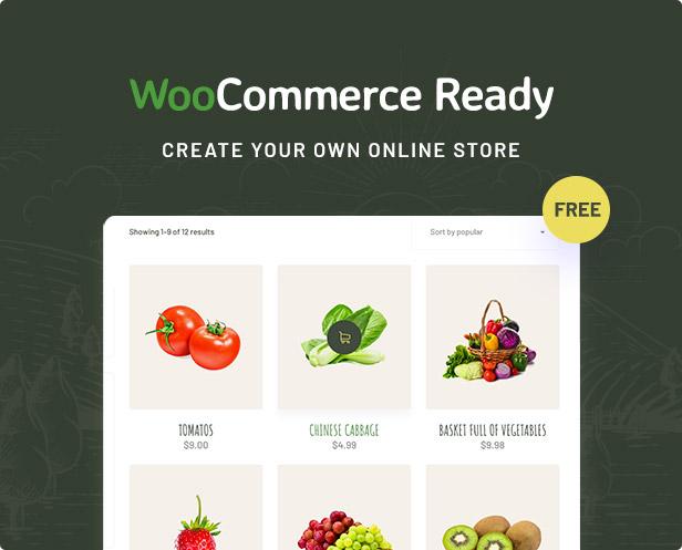 Agrikole   Thème WordPress réactif pour l'agriculture et l'agriculture - 11