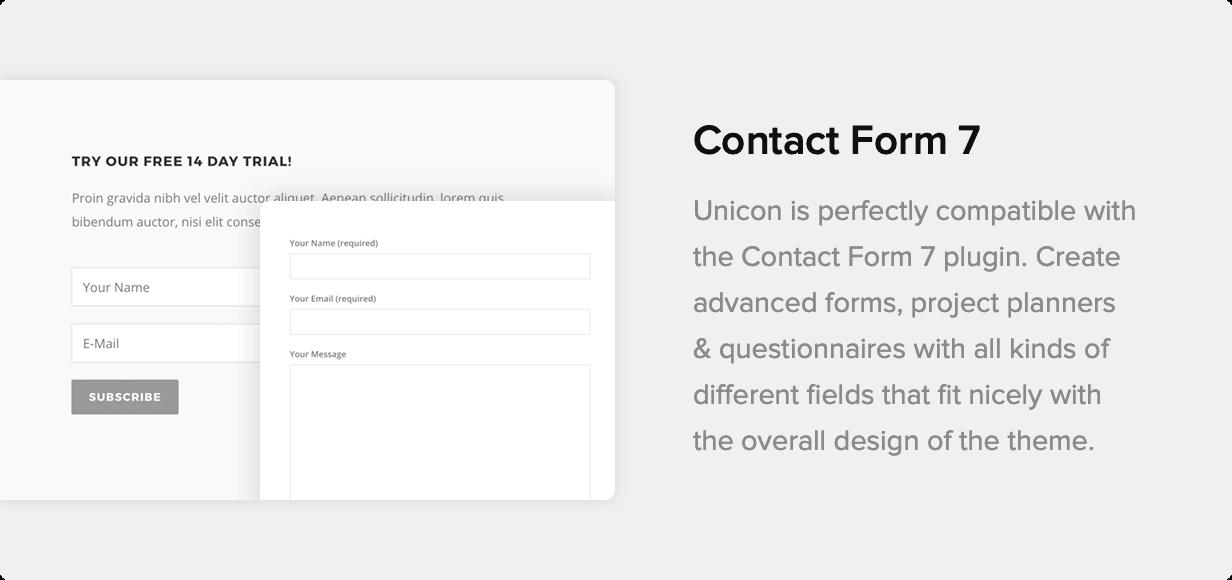 Unicon | Thème de conception polyvalent - 22