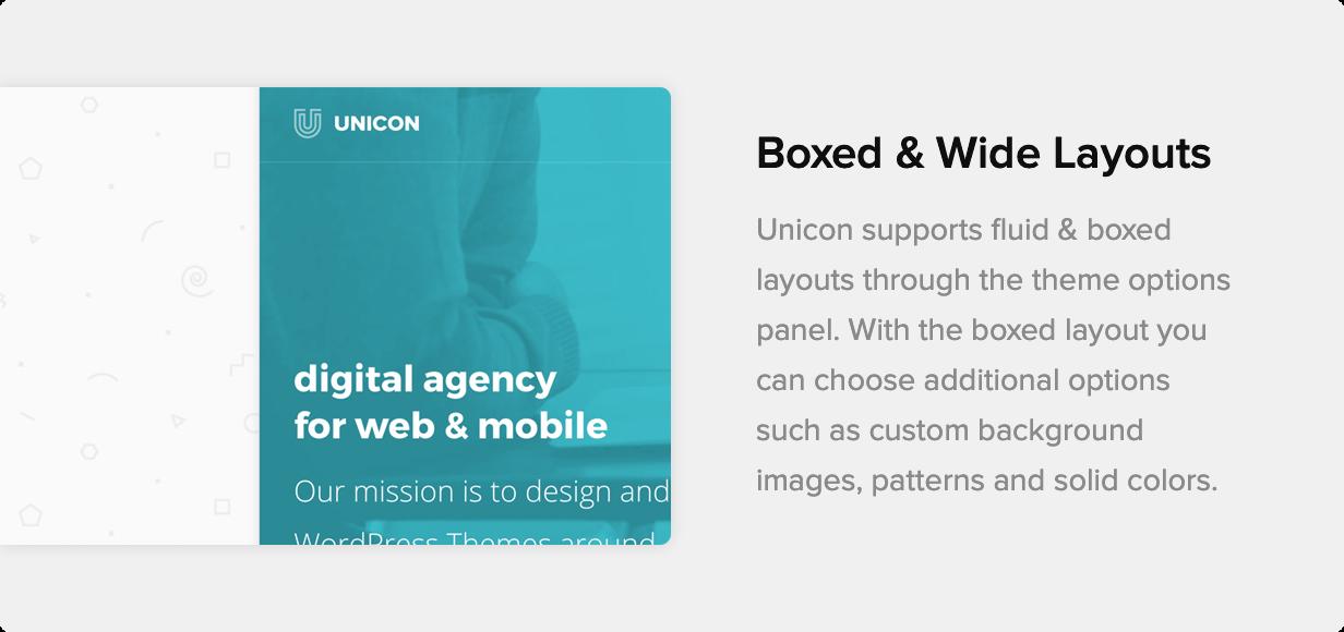 Unicon | Thème polyvalent basé sur le design - 14