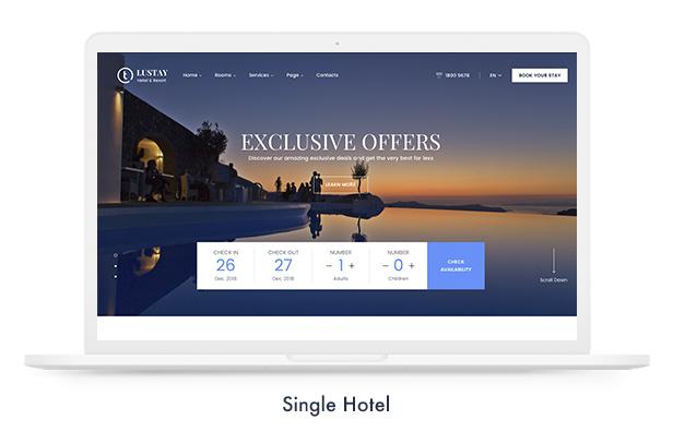 Thèmes WordPress pour les réservations de voyage - 11