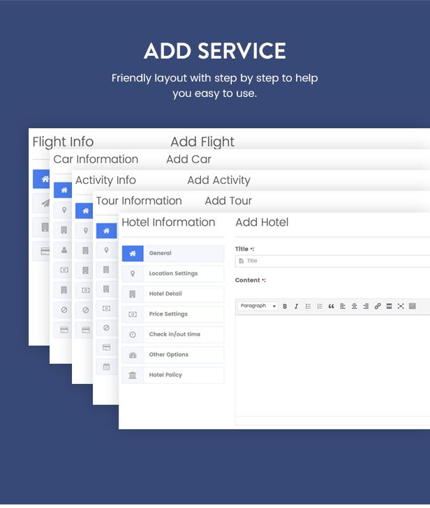 Thèmes WordPress pour les réservations de voyage - 18