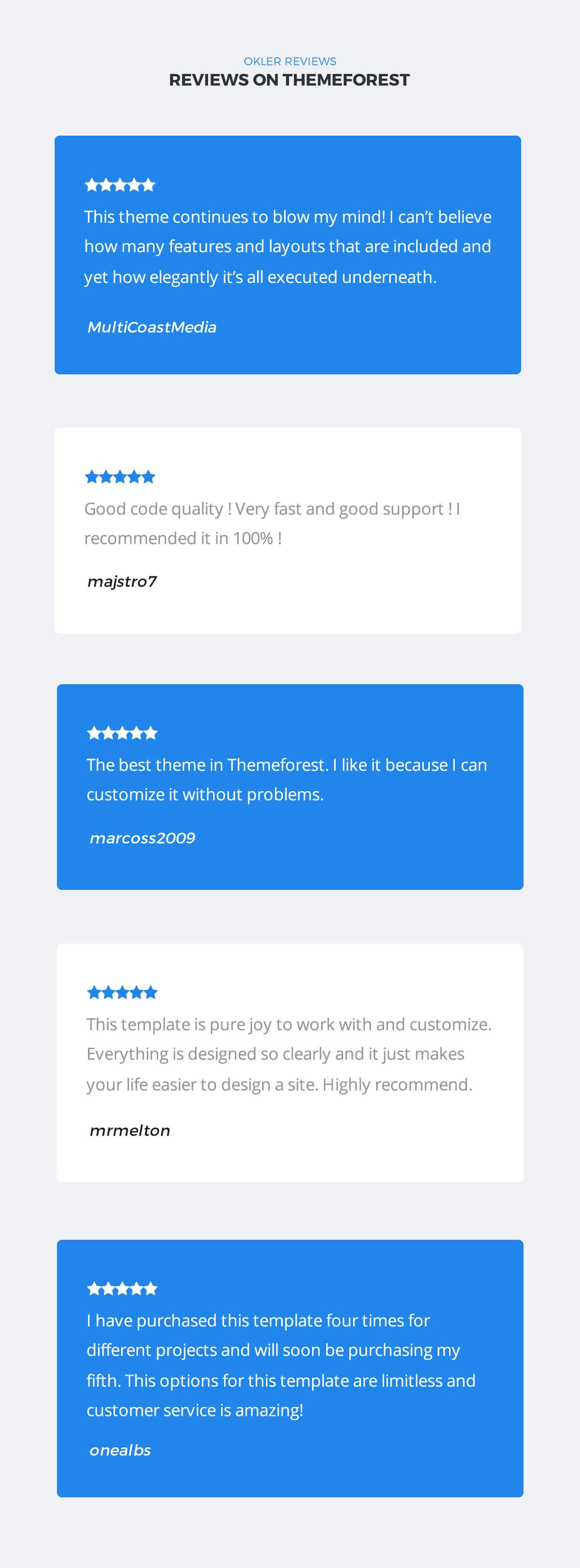 EZY - Thème WordPress polyvalent réactif - 6