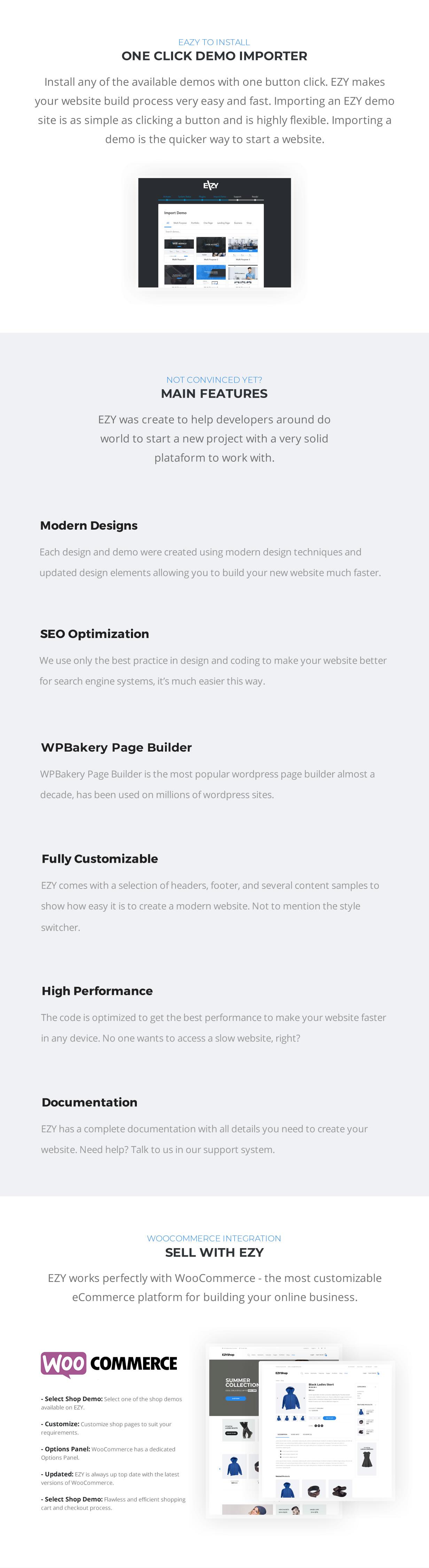 EZY - Thème WordPress polyvalent réactif - 4