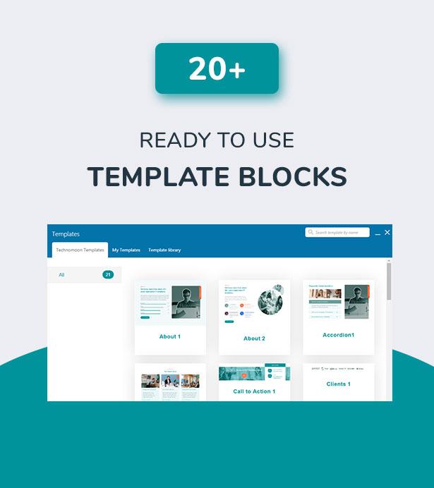 Techno Moon - Thème WordPress pour solutions et services informatiques - 4