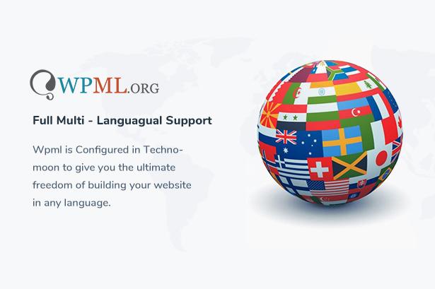 Techno Moon - Thème WordPress pour solutions et services informatiques - 8