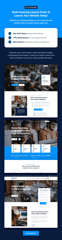 Datasoft - Thème WordPress pour les solutions et services informatiques - 6