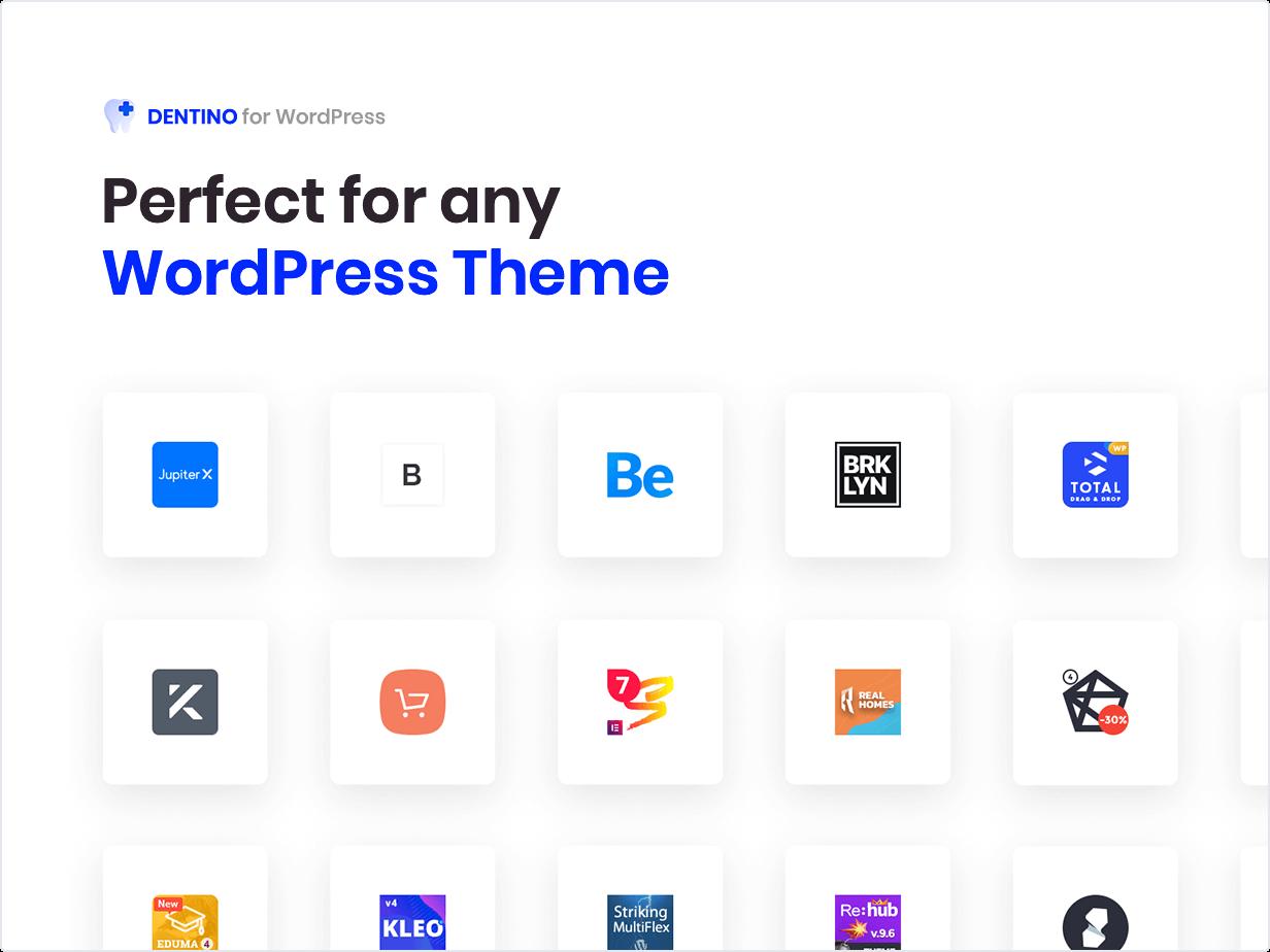 Parfait pour tout thème WordPress