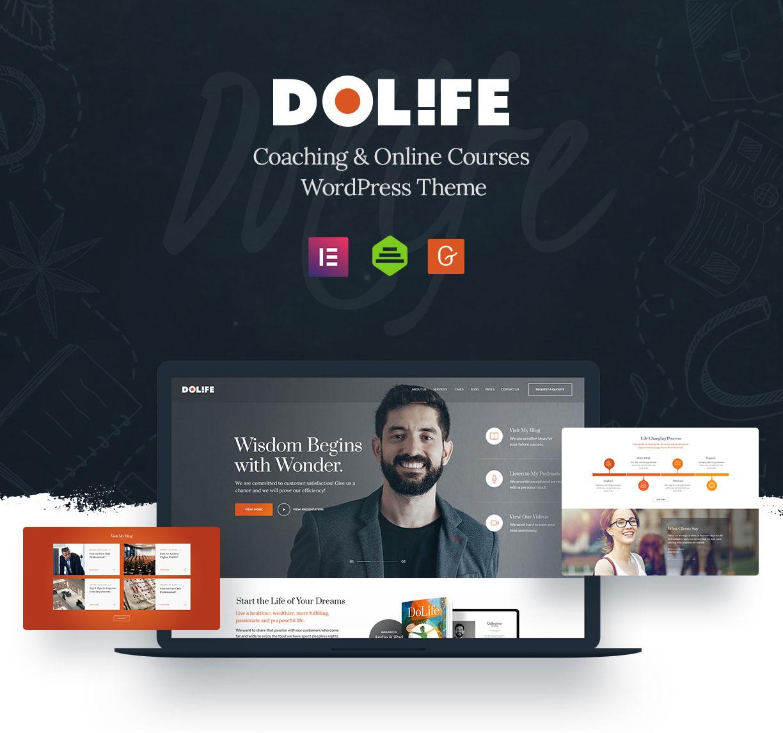 Dolife - Thème WordPress de coaching - 2