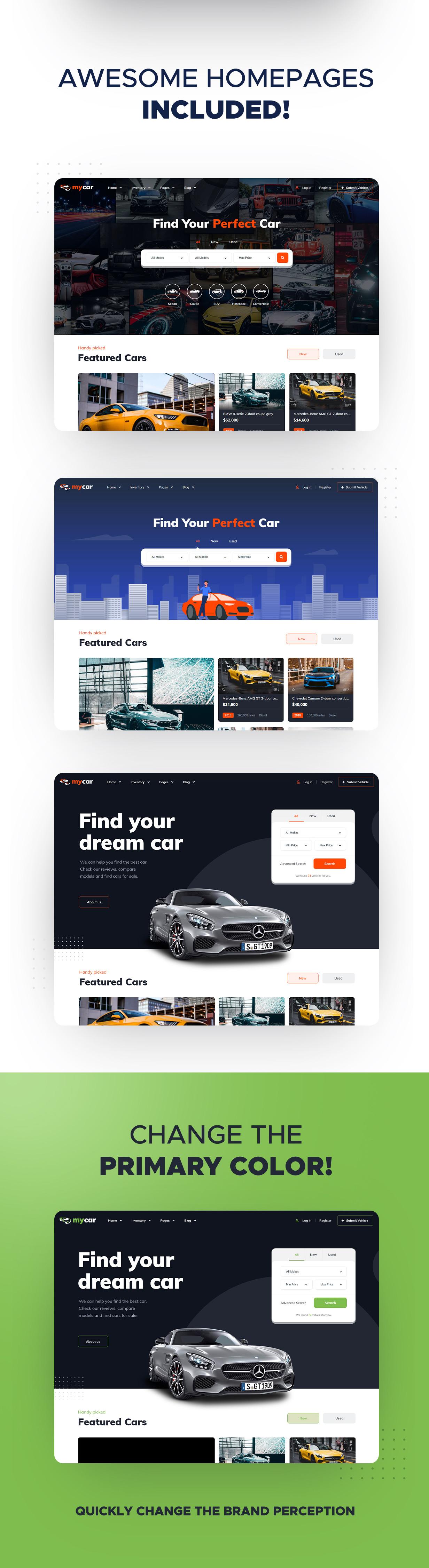 Vehica - Thème WordPress de liste de voitures - 5