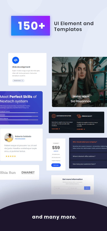 Nextech - Technologie Startup & Thème WordPress pour agence - 5