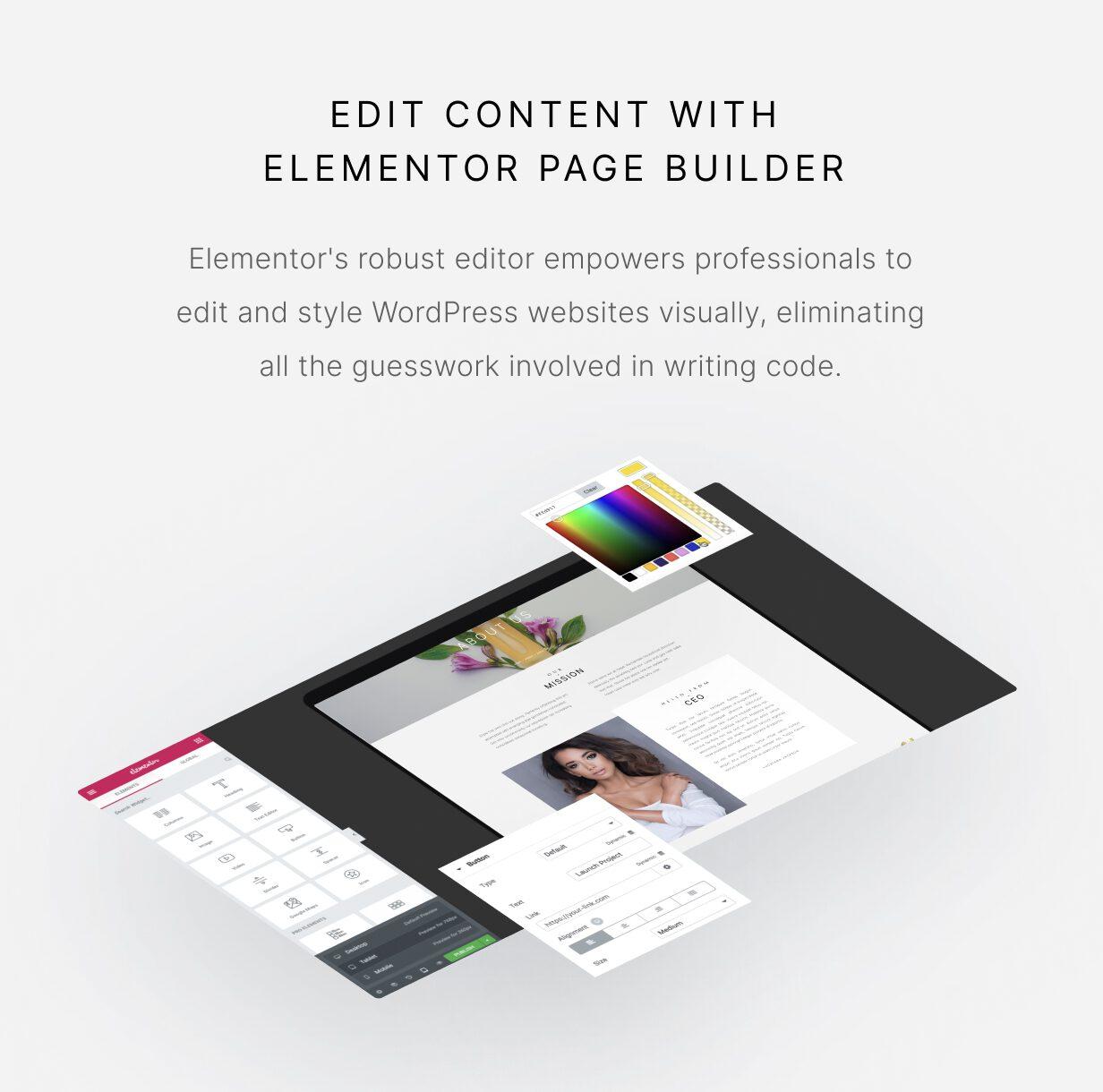 Luchiana - Créateur de pages Elementor