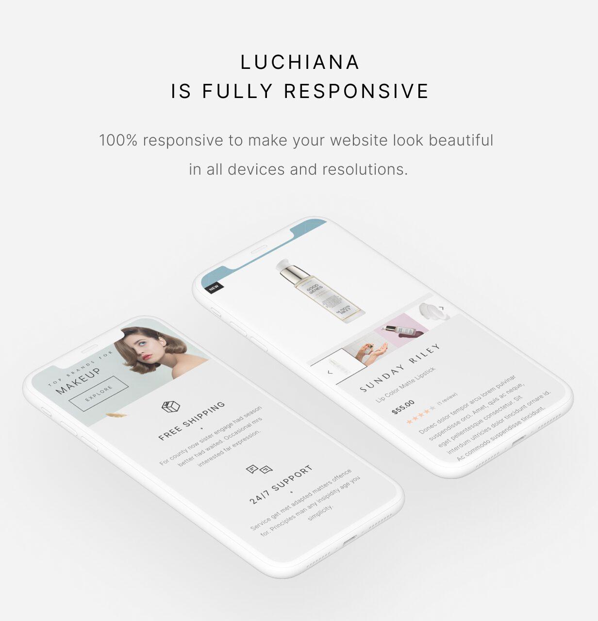 Luchiana - Réactif