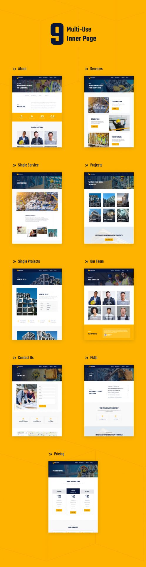 Buildeso | Kit de gabarit de construction Elementor - 2