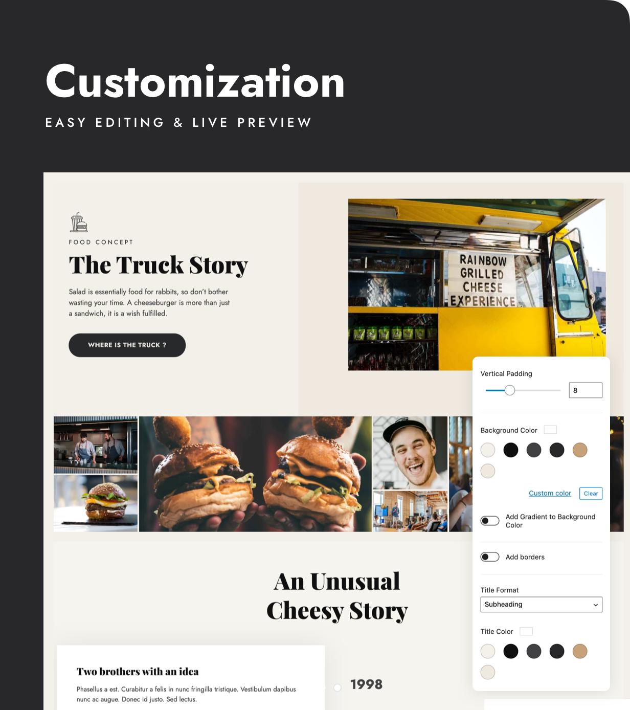 Stego - Thème Food Truck & Restaurant - 6