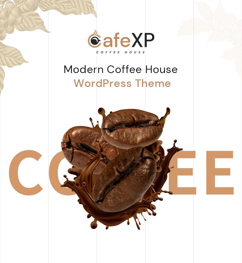 CafeXP   Thème WordPress Coffee Eatery - 5