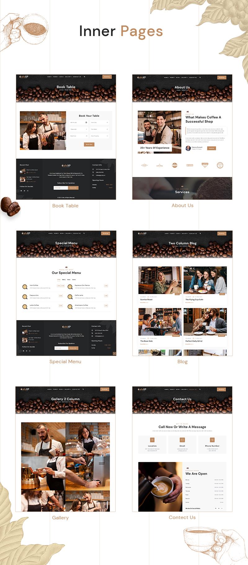 CafeXP   Thème WordPress Coffee Eatery - 7
