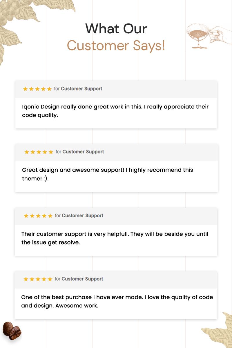 CafeXP   Thème WordPress Coffee Eatery - 12