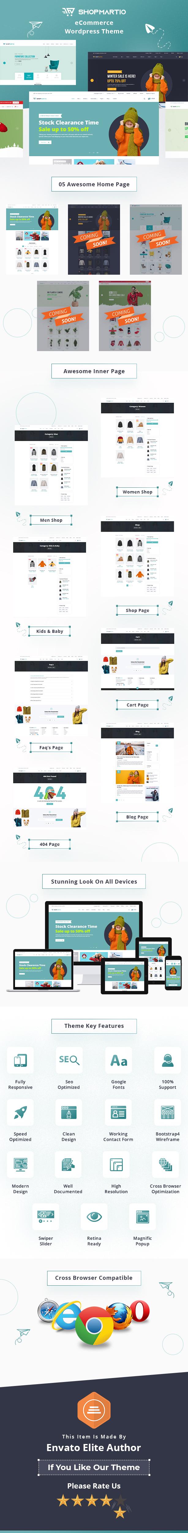 Shopmartio – Thème WordPress pour le commerce électronique - 2