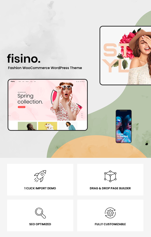 Fisino - Thème WordPress Mode WooCommerce - 2