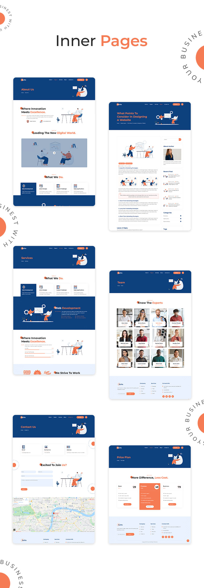 Costumes   Startup Thème WordPress Business - 9