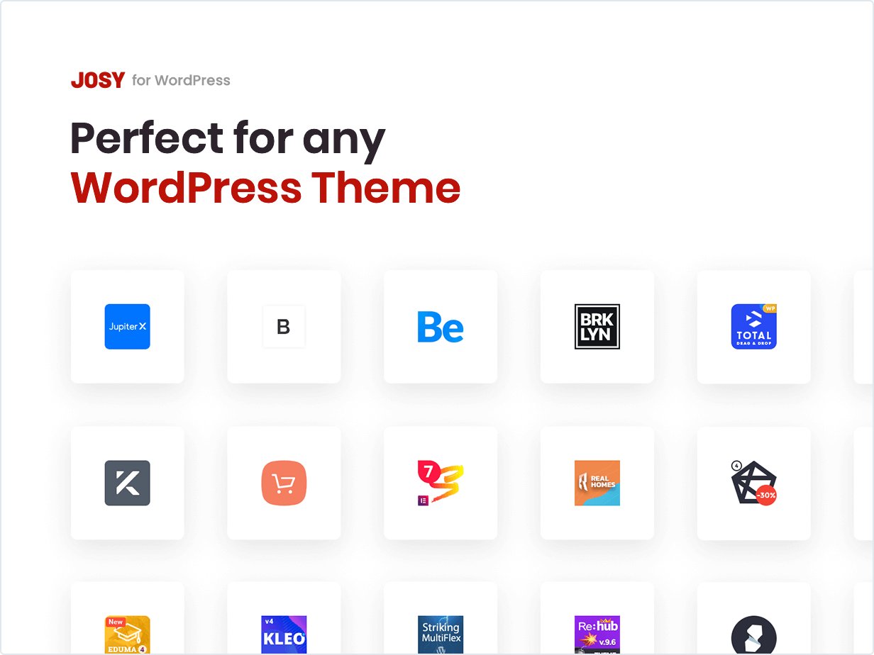 Parfait pour n'importe quel thème WordPress