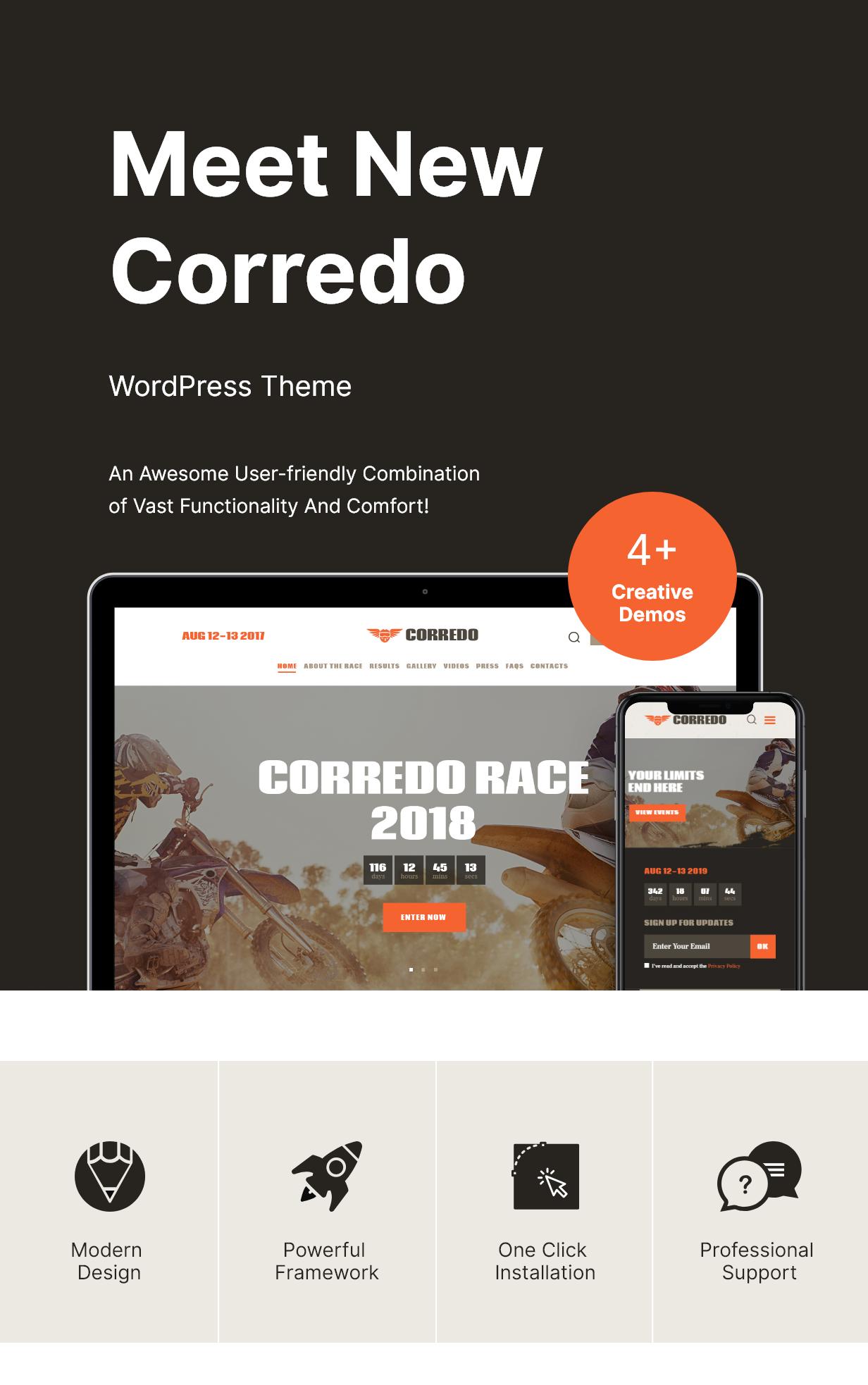 Kit | Thème WordPress pour les courses cyclistes et les événements sportifs - 1