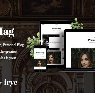 PersoMag – Blog personnel Thème WordPress