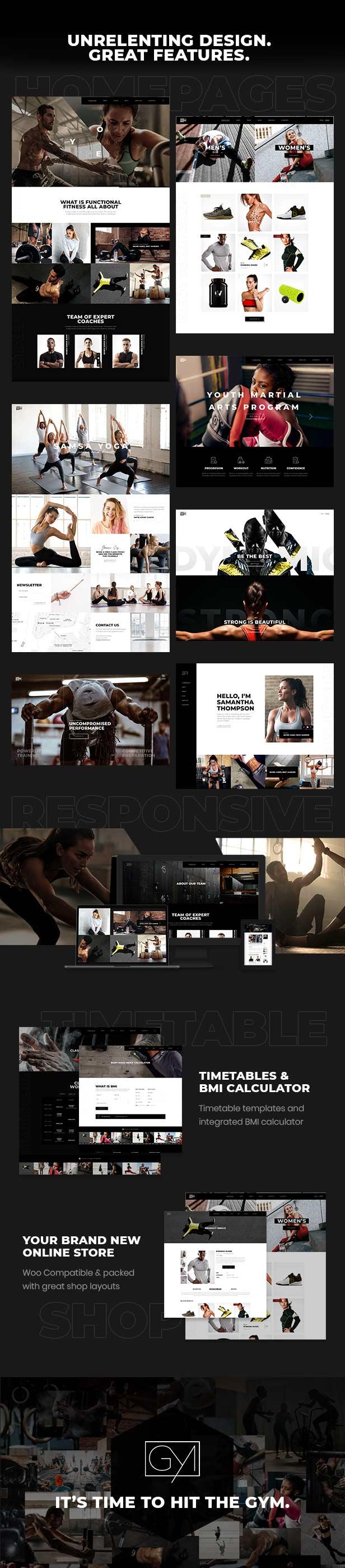 Powerlift - Thème fitness et gym - 1