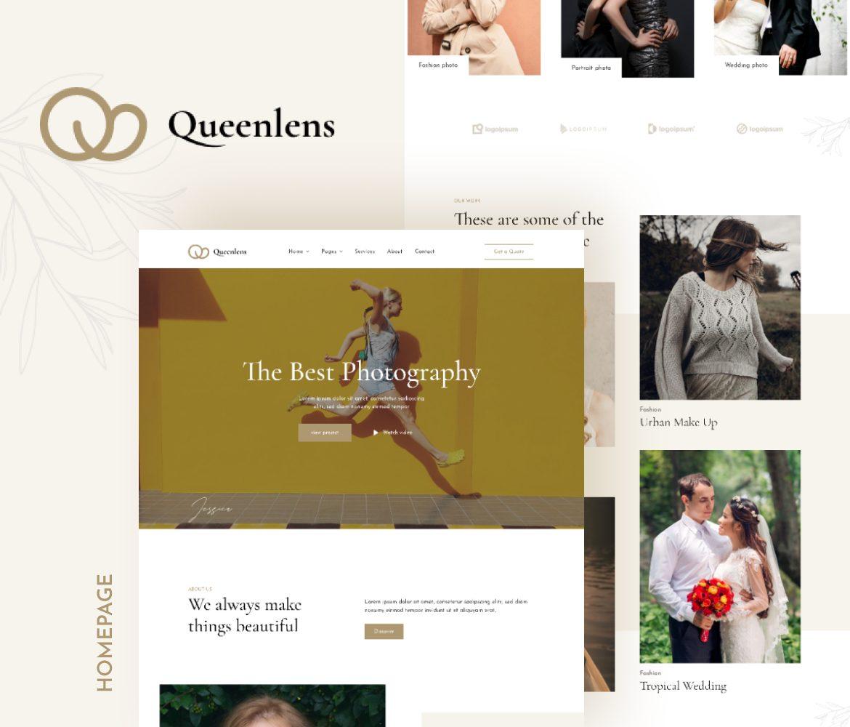 Queenlens   Kit de modèles d'élément de photographie et d'événement - 1